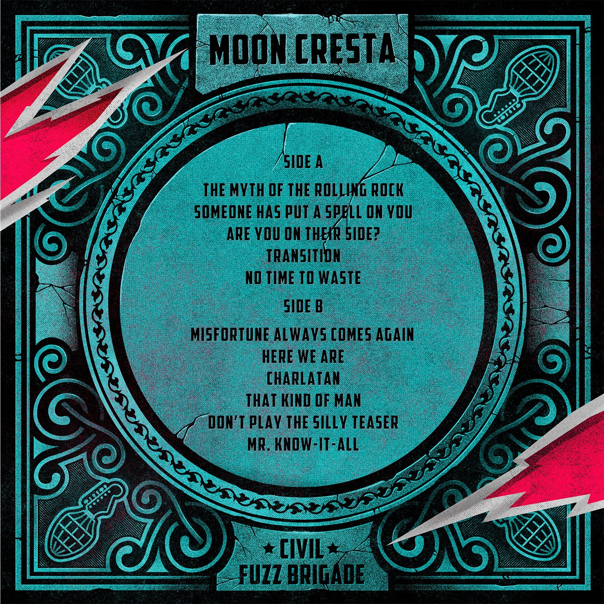 Contraportada nuevo disco Moon Cresta