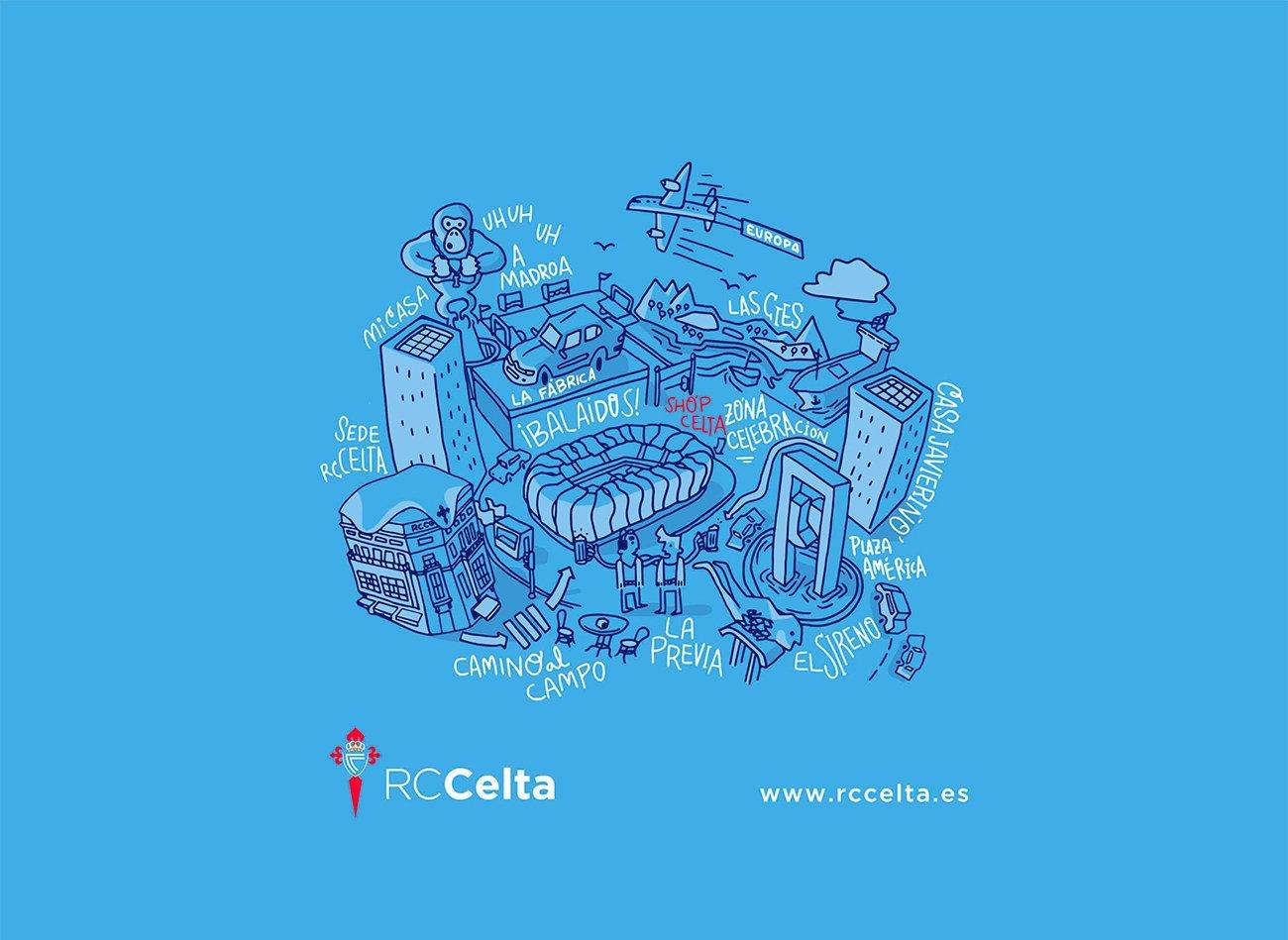 Illustration for RcCelta by Sr.Reny