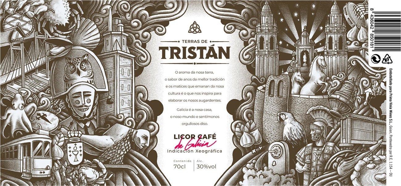 Illustration for brand Tristán by Sr.Reny